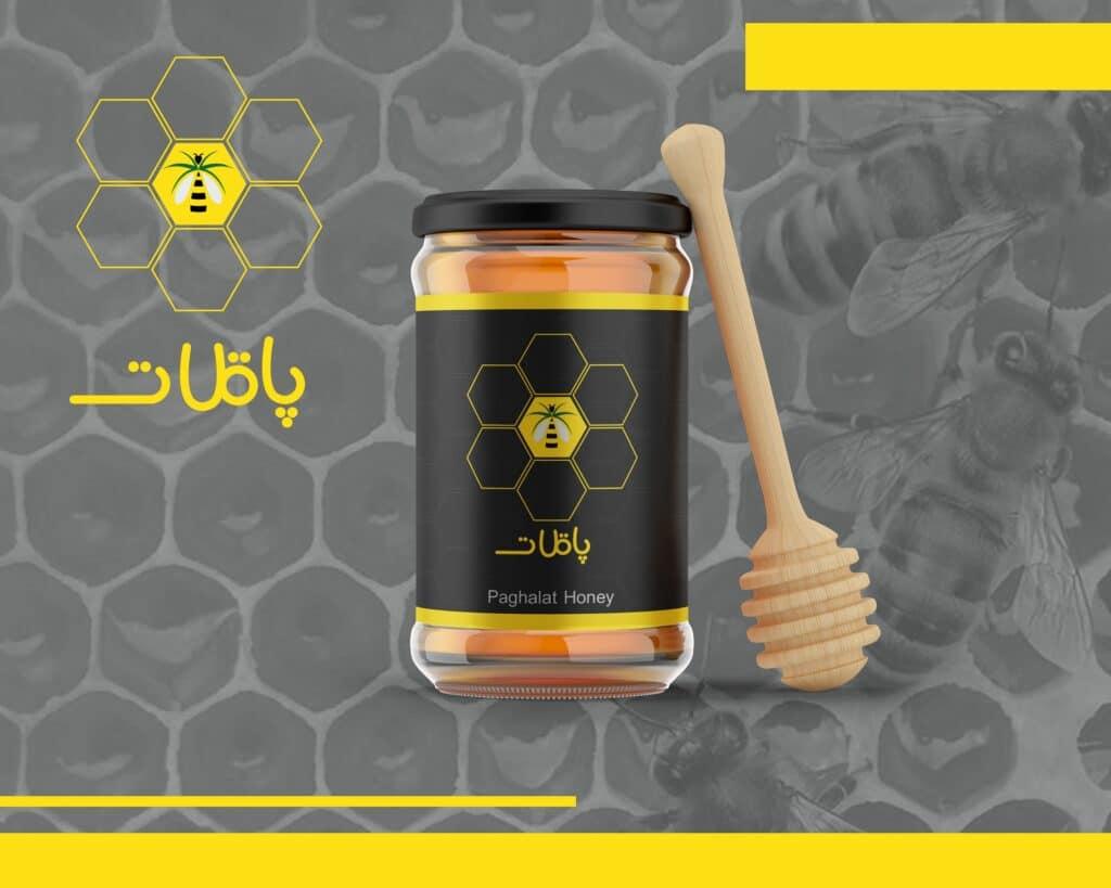 طراحی لوگو عسل