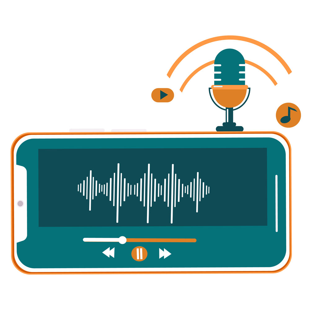 تولید محتوای صوتی در شیراز