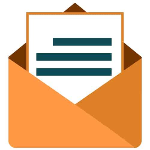 ارسال ایمیل انبوه به بانک های مرتبط