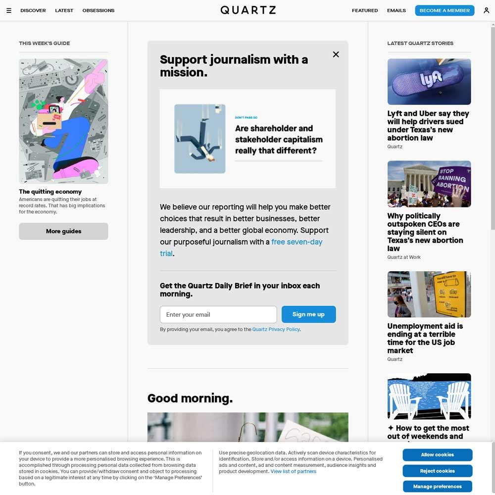زیباترین وب سایت وردپرسی